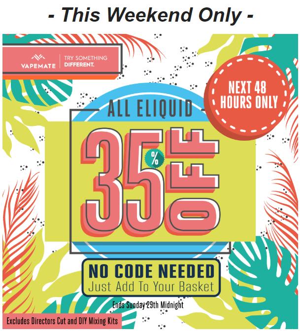 Vapemate discount coupons