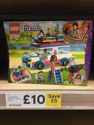 Lego Friends - Olivia's Mission Vehicle - £10 - Tesco (New Malden) - in store