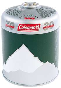 Coleman C500 Gas canisters 6 pack £16.42 after price match @ Go Outdoors