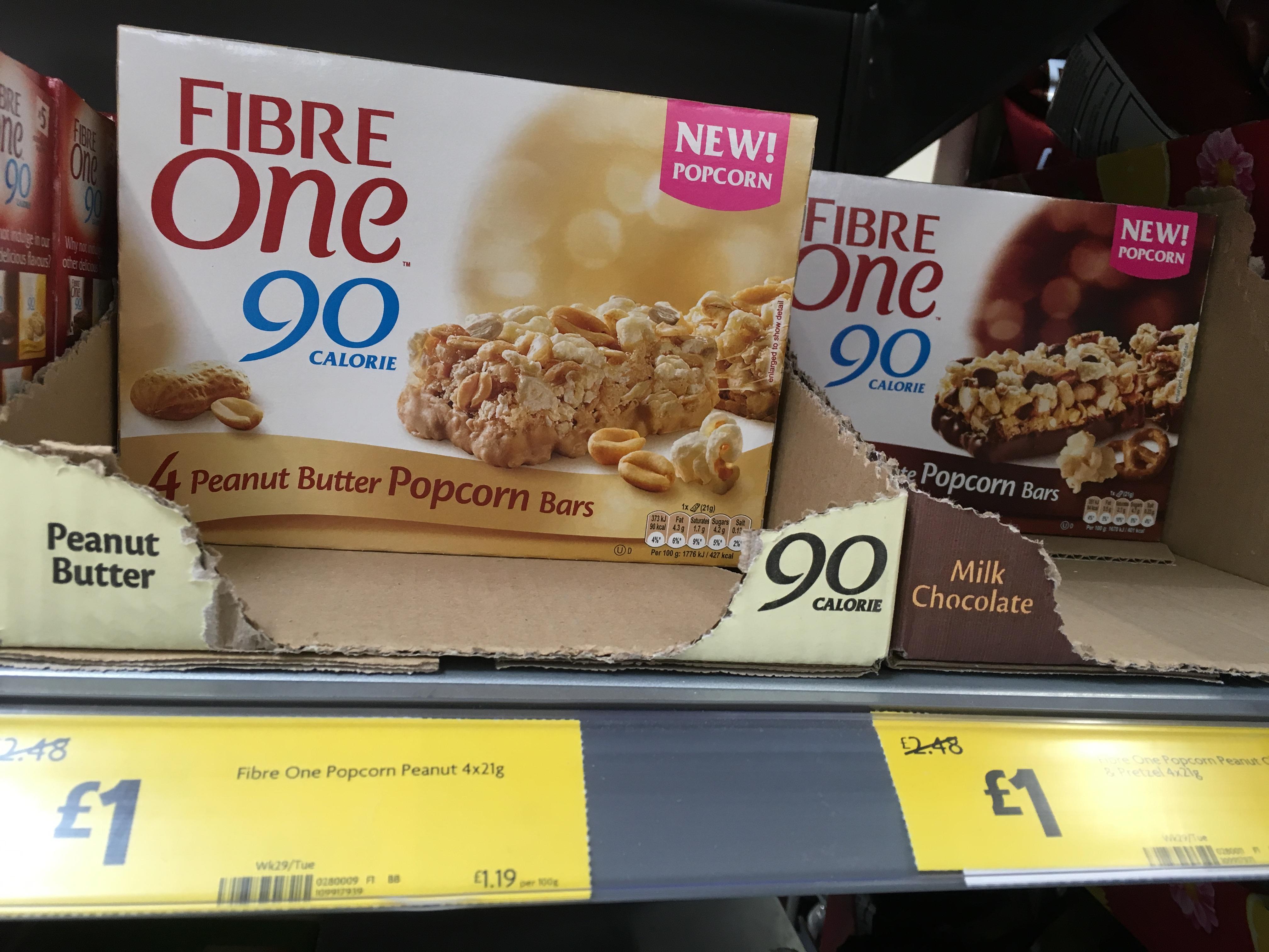 Fibre One Popcorn - £1 instore @ Morrisons