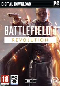 Battlefield 1: Revolution Edition PC - £10.99 ( £10.44 with cdkeys 5% fbook like code )