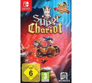 Lumo, Super Chariot and Monster Jam for Nintendo Switch £15.99 @ Argos