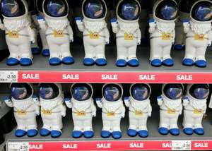 Space Astronaut Gnomes Reduced From £6.00 to £2.50 in Asda