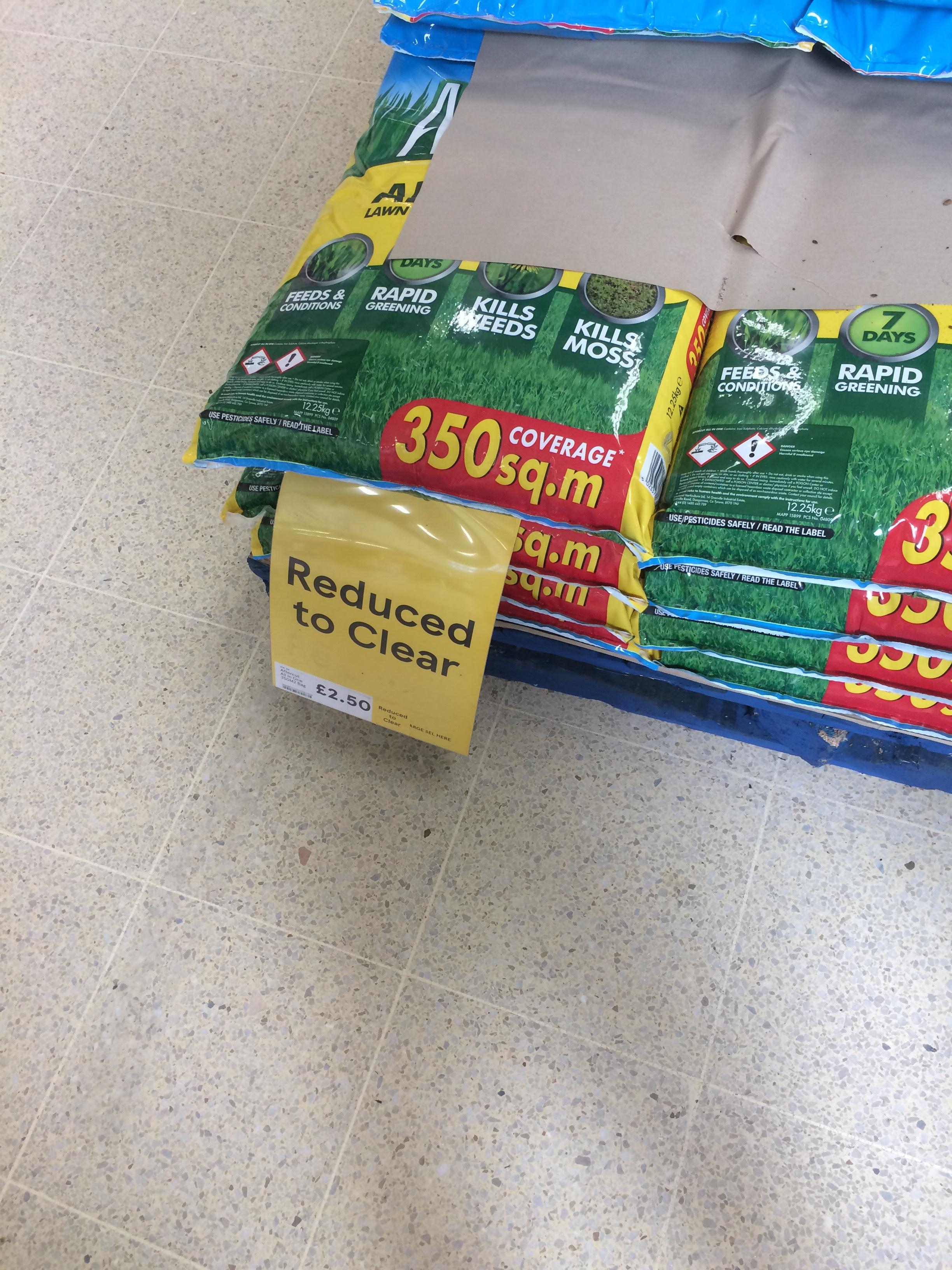 Westland Aftercut Grass Feed ' All in One ' 12.25kg bag £2.50 @ Tesco