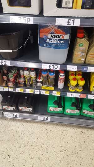 WD 40 450ml Smart Straw - £2.75 + Other Car Related Consumables Half Price in Picture @ Tesco