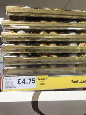 Ferrero and Lindt collection reduced to £4.75 instore at Tesco express (Leeds)