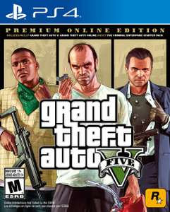 Grand Theft Auto V (GTA 5) : Premium Online Edition XB1/PS4 £29.99 @ Game