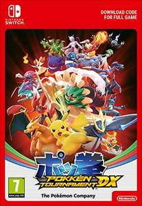 Pokkén Tournament DX | Switch - Download Code £12.85 @ Amazon