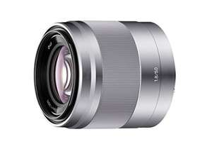 Sony SEL50F18 E Mount APS-C 50 mm F1.8 Prime Lens - Silver £169.99 @ Amazon