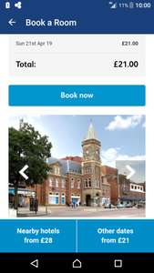 Southport travelodge easter Sunday 2019 £21 for Family Room