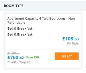 Direct Flights and hotel (B&B) 7 NIGHTS to Dubai for under £500 4th November 7 nights - Alpha Rooms