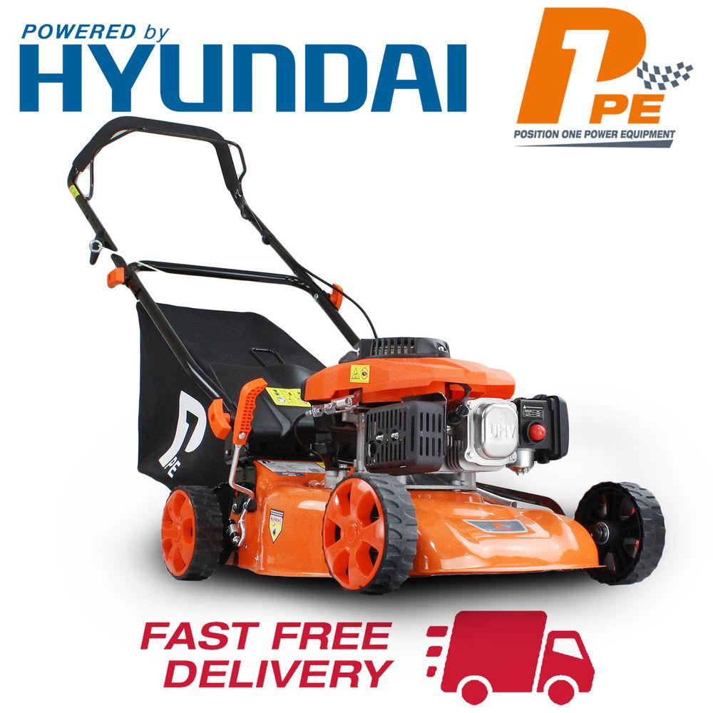 P1PE P4100P Hyundai powered Lawnmower £116.10 @ ebay / hyundaipowerequipmentdirect