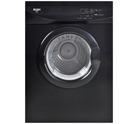 Bush V7SDB 7KG Vented Tumble Dryer - Blackby Bush 538/6073 £48.99 @ Clearance Bargains (Corby)