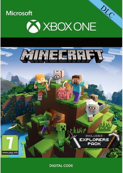 Minecraft: Explorers Pack DLC XboxOne 99p @ CDKeys