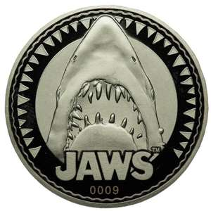 Jaws 'Bigger Boat' Collector's Limited Edition Silver Coin - £10.08p @ Zavvi
