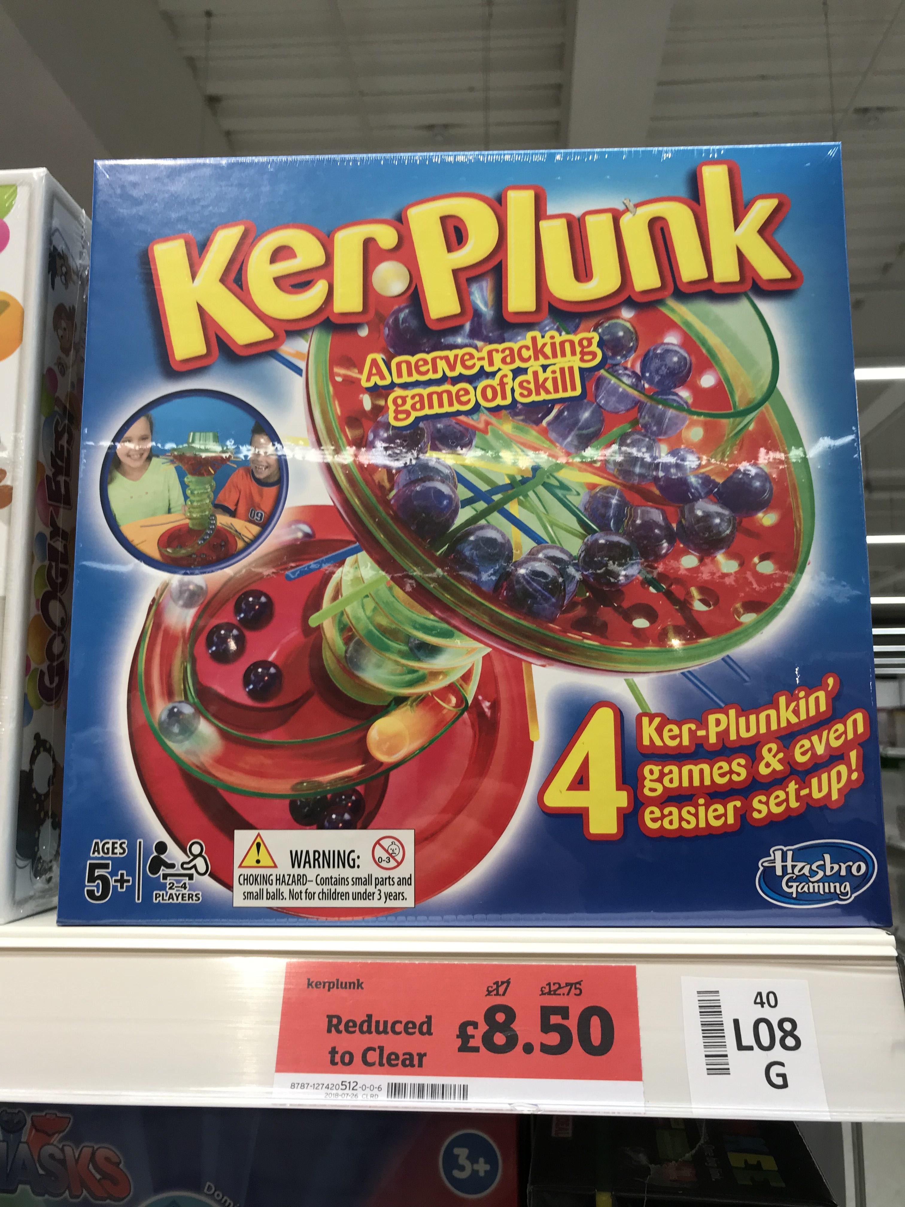 Kerplunk £8.50 - Sainsbury's Wakefield