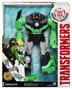 Transformers Robots In Disguise 3 Step Changers - Grimlock £8.00 @ Argos