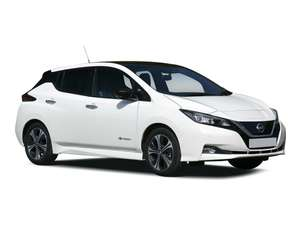 Nissan Leaf Visia 5dr Auto 36 Months Lease - £265.80 with inital rental of £797.40 via Blue Chili Cars. Total cost: £10,460.40