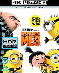 Despicable Me 3 (U) 2017 4K UHD+BR - £7.50 from CEX