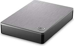 Seagate 4 TB Backup Plus USB 3.0 Portable 2.5 Inch External Hard Drive for PC and Mac with 2 Months Free Adobe Creative Cloud Photography Plan - Silver - £89.99 @ Amazon