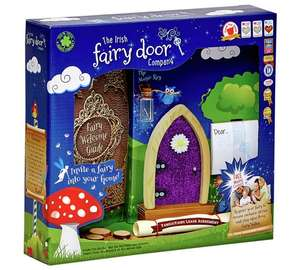 The Irish Fairy Door Company Fairy Door - Purple Sparkle £5.99 (was £14.99) @ Argos (free C&C)