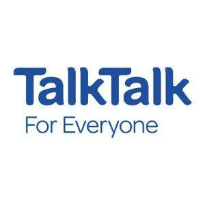 TalkTalk Fixed Price Unlimited Faster Fibre Speed Boost (63Mbps minimum speed) - £25pm x 18 months = £450