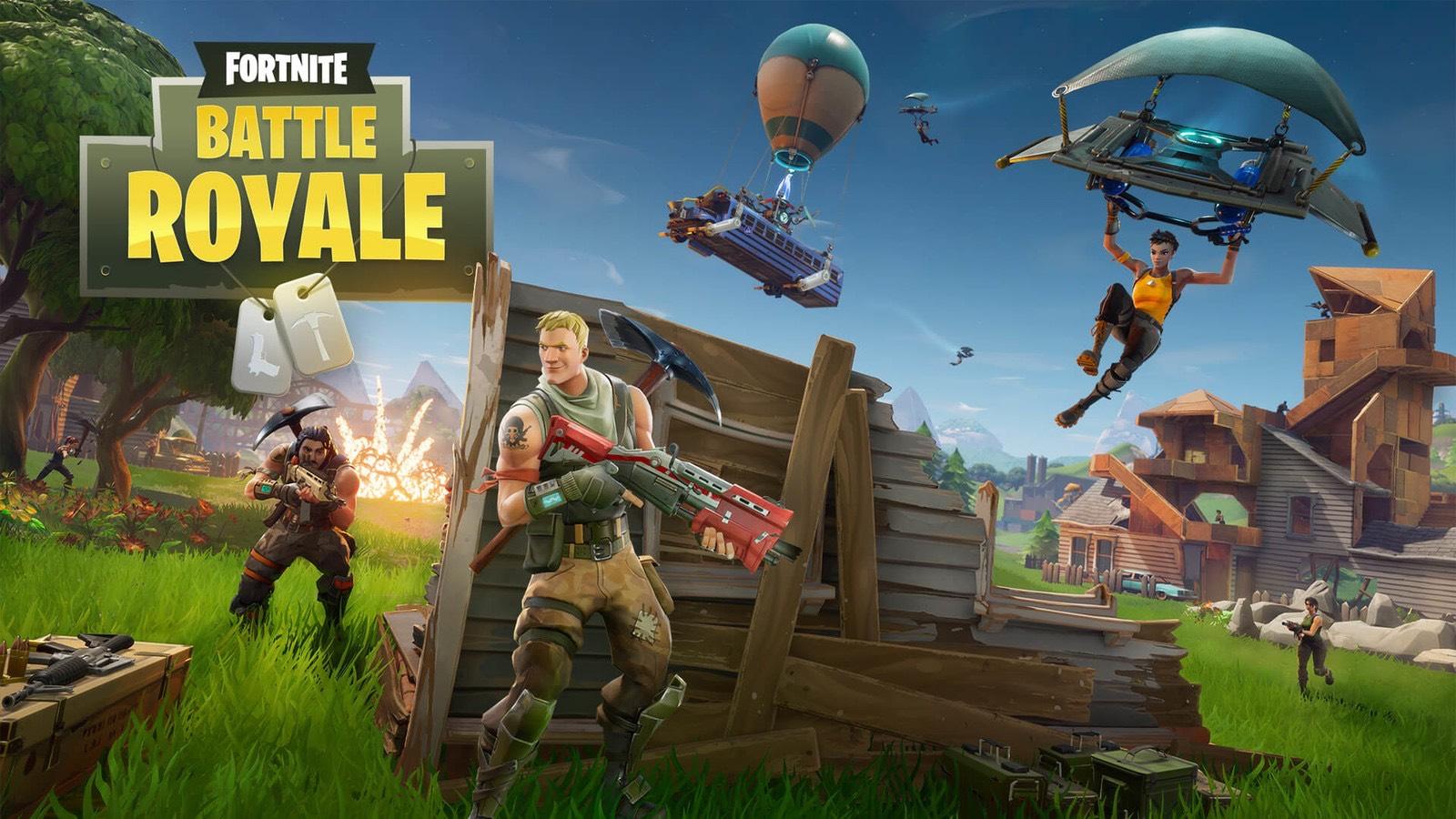 Fortnite Battle Royale full game free @ PSN