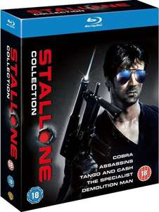 THE SYLVESTER STALLONE COLLECTIONOn Blu-Ray £9.99 + 99p Del @ Zavvi.  (When clicking get deal go to the GB flag and click it then change currency to GBP as it automatically sets to USD for some reason)