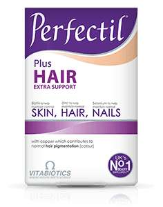 Perfectil Plus Hair  £17.95 on 3 for 2 + an extra 20% off too when you sign up at vitabiotics