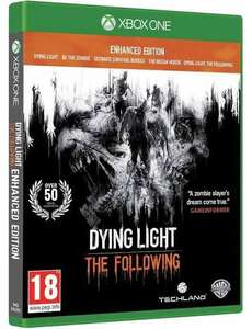 Dying light the following - enhanced edition. XBOX ONE AND PS4. 2 FOR 26 SELECTED GAMES at  Base.com
