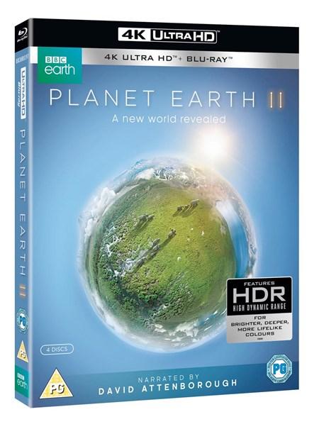Planet Earth 2 UHD 4K Bluray £17.09 @ ZOOM