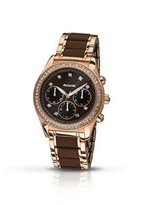 Accurist Women's Quartz Watch with Chronograph Display and Stainless Steel Bracelet - £36.78 @ Amazon