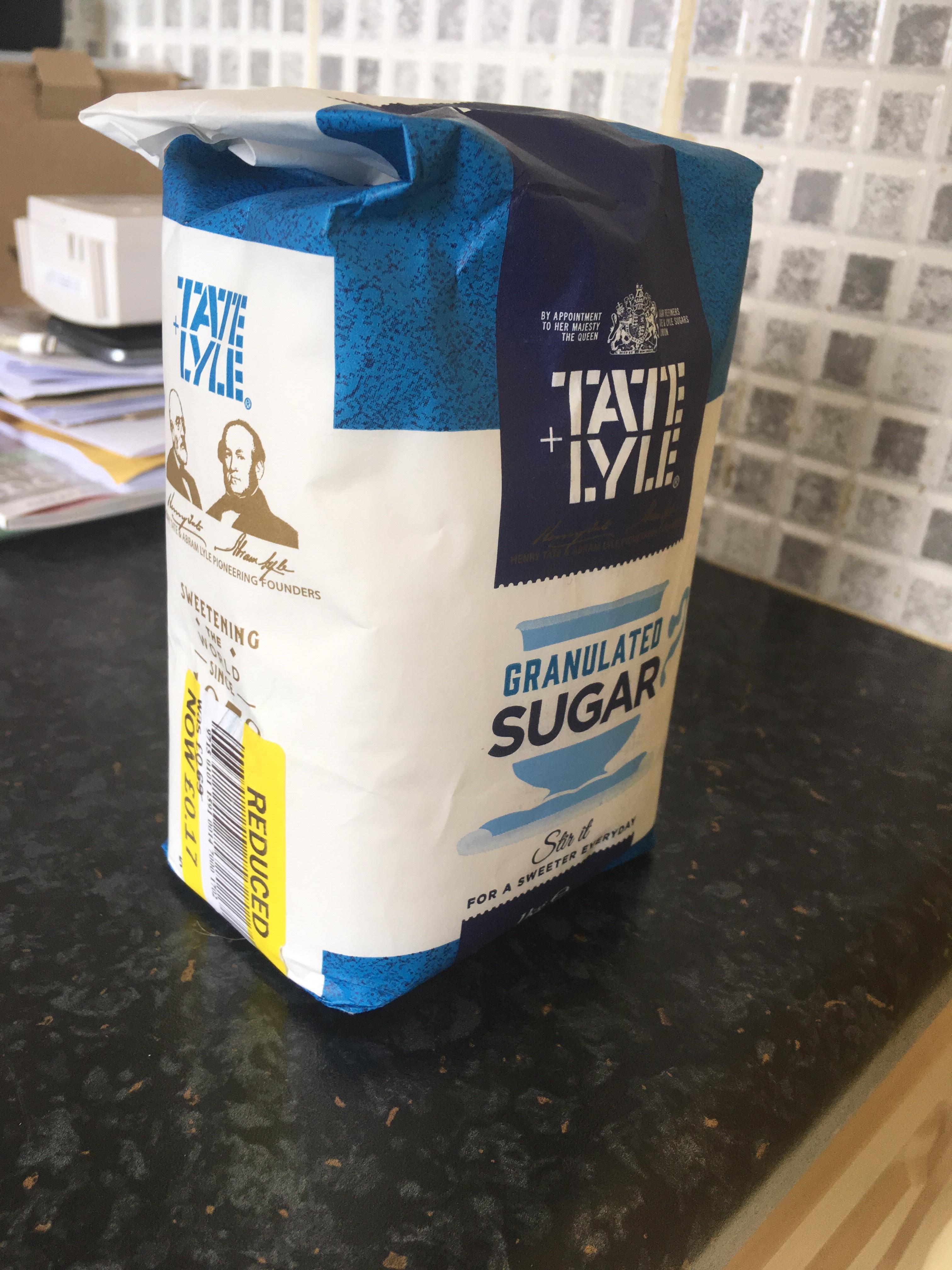 Tate & Lyle 1KG Sugar 17p - Tesco - Cityside in North Belfast