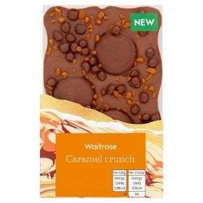 Waitrose slab chocolate - 3 for £3