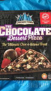 Chicago Town chocolate dessert pizza £1 @ Farmfoods