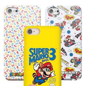 Official Nintendo Phone Cases £9.99 Delivered with code at Zavvi
