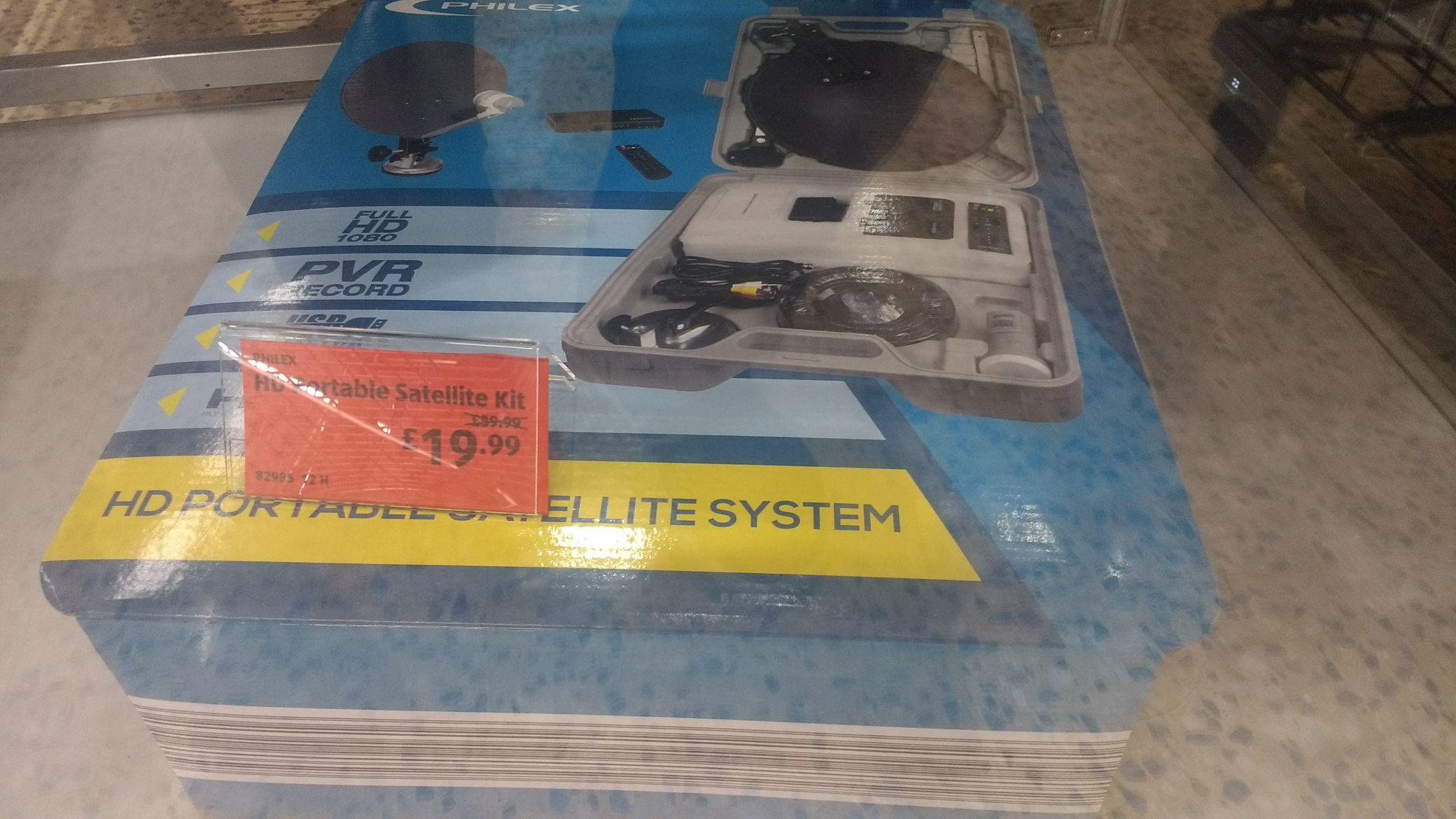 Aldi philex hd satellite kit £19.99