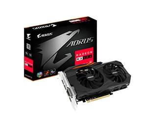 Gigabyte AORUS Radeon RX 580 8GB Graphic Cards GV-RX580AORUS-8GD £232.94 + £6.21 UK Delivery @ Amazon (US)
