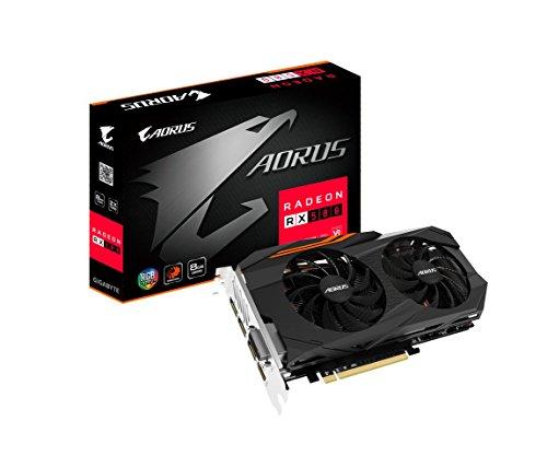Gigabyte AORUS Radeon RX 580 8GB Graphic Cards GV-RX580AORUS-8GD £232.94 + £6.21 UK Delivery @ Amazon (US)