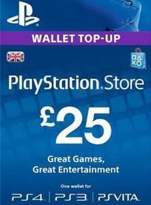 PSN Top Ups £21.94 for £25.00, £30.97 for £35.00 and £43.99 for £50.00 @ Electronic First