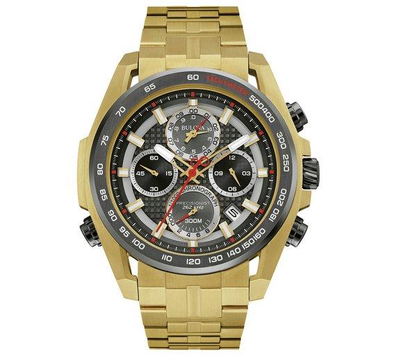 Bulova Men's Precisionist Quartz Chronograph Watch £299.99 @ Argos (C&C)