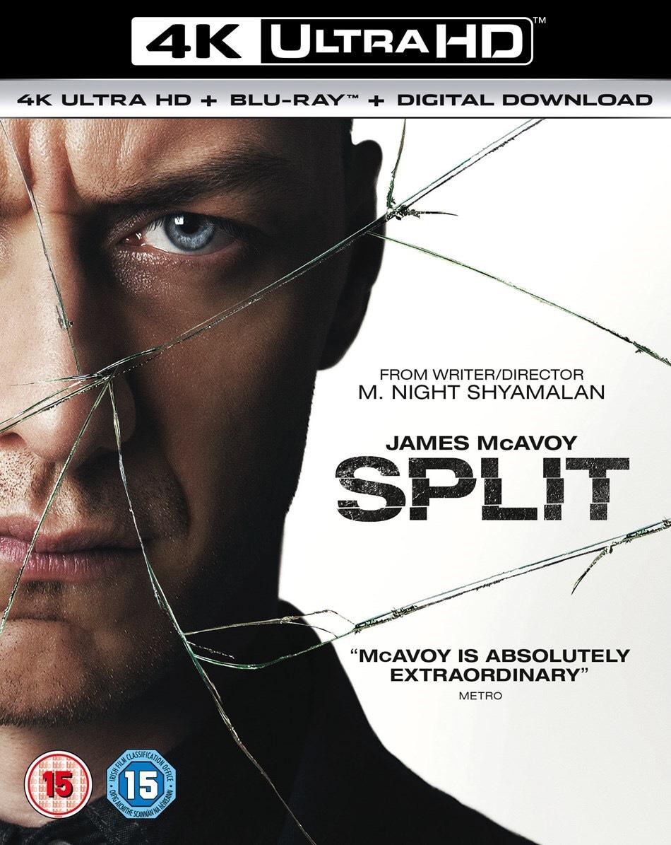 Split, Sicario, Jason Bourne 4K HDR £4.99 each @ iTunes