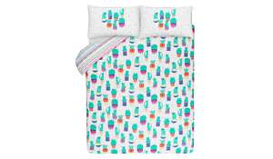 Cactipus reversible Duvet Set - Double £3.00/King £3.50 @ Asda - C+C