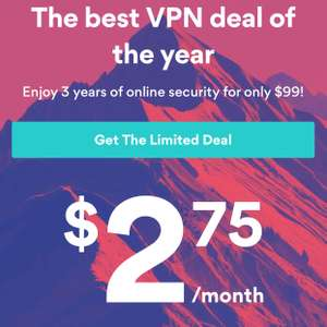 NordVPN (3 year plan) approx £75 40 w/code SUPERSAF to get