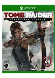 Tomb Raider Definitive Edition Xbox One - Digital Code. INC ALL DLC £5.99 CDKeys