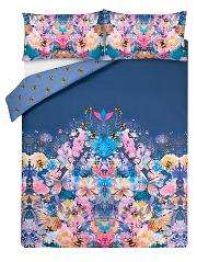 Mirrored Floral Reversible King Size Duvet Cover £4.50 , Single £3. @ Asda C+C