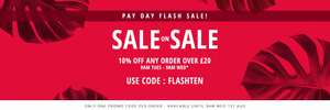 10% off orders over £20 with Code @ Fragrance Direct