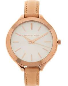 Michael Kors blush pink / rose gold analogue watch £79.99 delivered @ TK Maxx