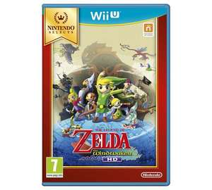 The Legend Of Zelda: The Wind Waker Wii U Game for £12.99 at Argos