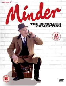 Minder 33 disc dvd set including the incredibly hard to get Minder on the Orient Express £26.84 including p&p at Networkonair